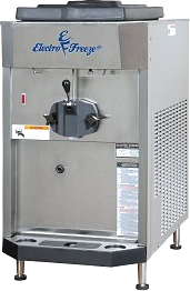 Electro Freeze Gravity Fed Ice Cream Machines - Compact Counter Model